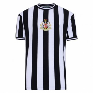 Score Draw Newcastle United 1974 Retro Football Shirt