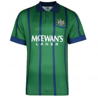 Score Draw Newcastle United 1995 Away Retro Football Shirt