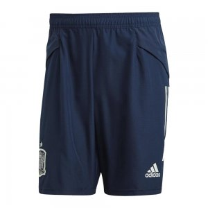 2019-2020 Spain Adidas Downtime Shorts (Navy)