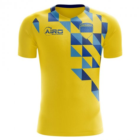2019-2020 Ukraine Home Concept Football Shirt - Womens