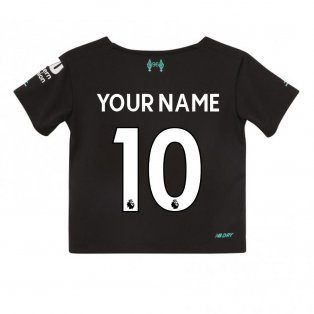 2019-2020 Liverpool Third Little Boys Mini Kit (Your Name)