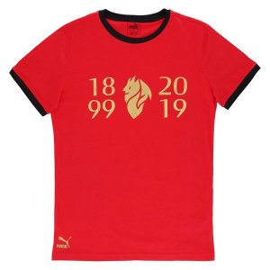 2019-2020 AC Milan Puma Fan Tee (Red)