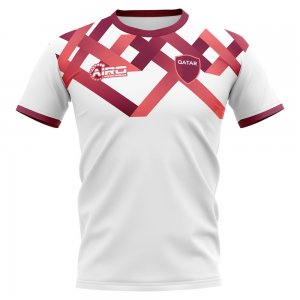 2020-2021 Qatar Home Concept Football Shirt