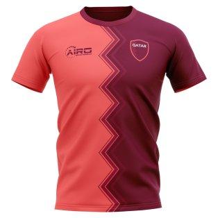 2020-2021 Qatar Away Concept Football Shirt - Kids