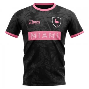 2020-2021 Miami Home Concept Football Shirt - Little Boys