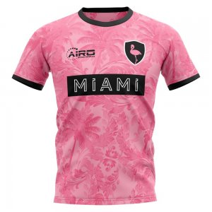 2020-2021 Miami Away Concept Football Shirt - Little Boys