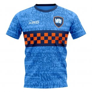 2020-2021 New York Home Concept Football Shirt - Womens