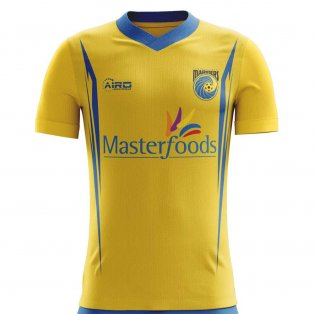 2020-2021 Central Coast Mariners Home Concept Football Shirt - Kids