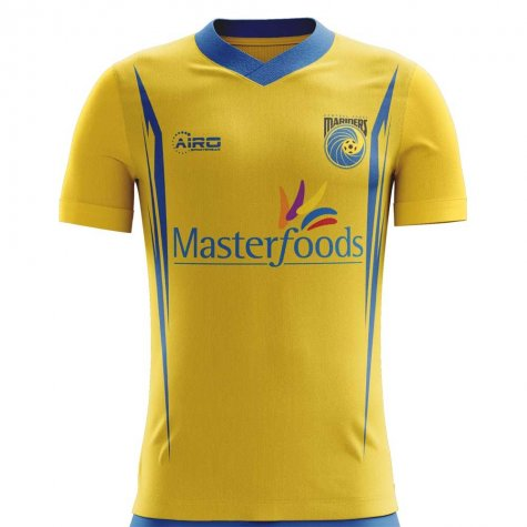 2020-2021 Central Coast Mariners Home Concept Football Shirt - Baby