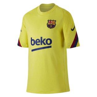 2019-2020 Barcelona Nike Training Shirt (Yellow) - Kids
