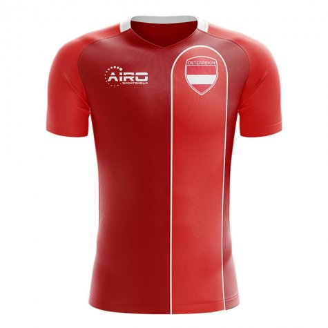 2020-2021 Austria Home Concept Football Shirt