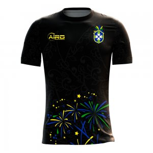 2020-2021 Brazil Third Concept Football Shirt - Kids
