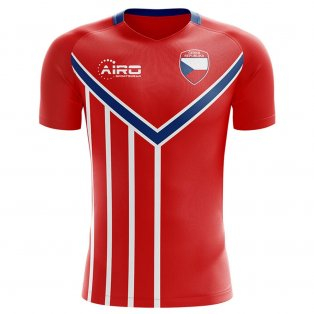 2019-2020 Czech Republic Home Concept Football Shirt
