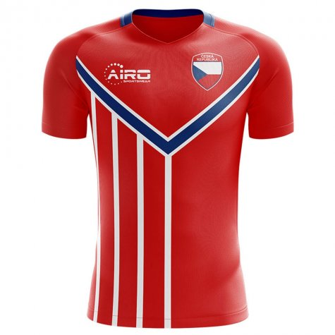 2020-2021 Czech Republic Home Concept Football Shirt - Womens