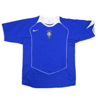 2004-05 Brazil Nike Away Shirt (Excellent)