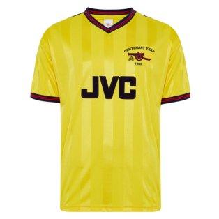 Score Draw Arsenal 1985 Centenary Away Shirt