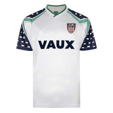 Score Draw Sunderland 1992 FA Cup Away Shirt