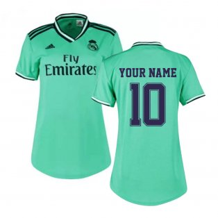 2019-2020 Real Madrid Adidas Womens Third Shirt (Your Name)