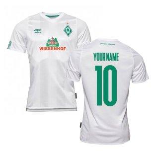 2019-2020 Werder Bremen Away Football Shirt (Your Name)