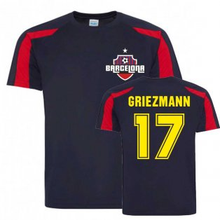 Antoine Griezmann Barcelona Sports Training Jersey (Navy)