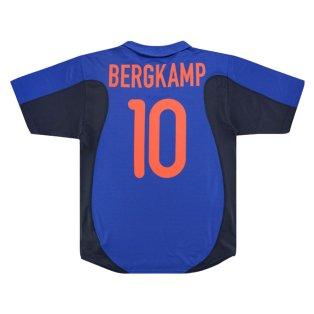 Holland Euro 2000 Nike Away Shirt (BERGKAMP 10) (Very Good)