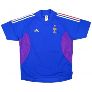 2002-2004 France Adidas Home Shirt (Excellent)