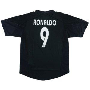 2004-2005 Real Madrid Away Shirt XL (RONALDO 9) (Excellent)