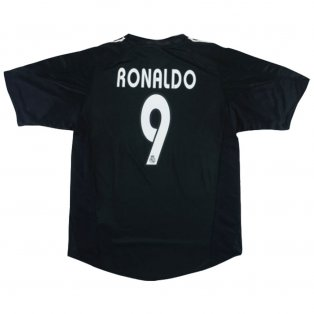 2004-2005 Real Madrid Away Shirt XL (RONALDO 9) (Excellent)