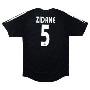 2004-2005 Real Madrid Away Shirt XL (ZIDANE 5) (Excellent)