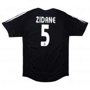 2004-2005 Real Madrid Away Shirt XL (ZIDANE 5) (Excellent)