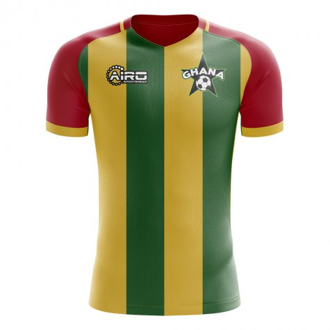 2020-2021 Ghana Training Concept Football Shirt - Womens
