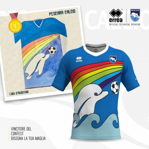 2020 Pescara Special Edition Rainbow Shirt