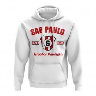 Sao Paolo Established Football Hoody (White)