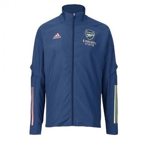 2020-2021 Arsenal Adidas Presentation Jacket (Indigo)