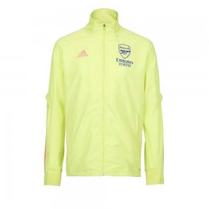 2020-2021 Arsenal Adidas Presentation Jacket (Yellow)