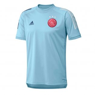 2020-2021 Ajax Adidas Training Shirt (Ice Blue) - Kids