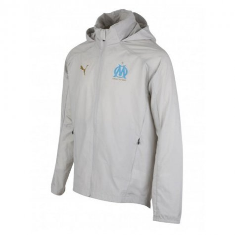 2020-2021 Marseille Training Jacket (Grey)