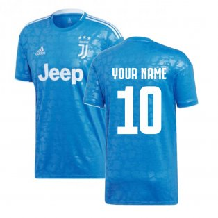 2019-2020 Juventus Adidas Third Football Shirt (Your Name)