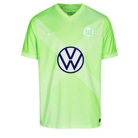 2020-2021 VFL Wolfsburg Home Nike Football Shirt