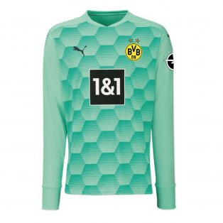 2020-2021 Borussia Dortmund Home Goalkeeper Shirt (Green)