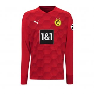 2020-2021 Borussia Dortmund Away Goalkeeper Shirt (Red)