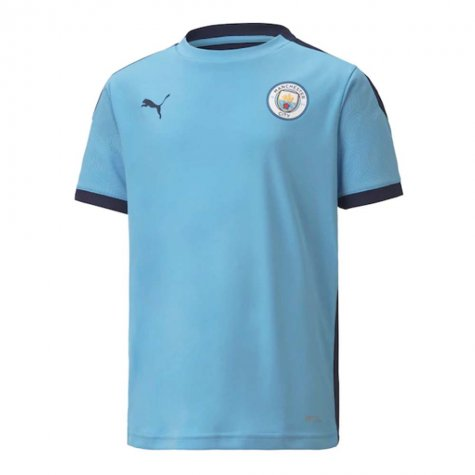 2020-2021 Manchester City Training Shirt (Light Blue) - Kids