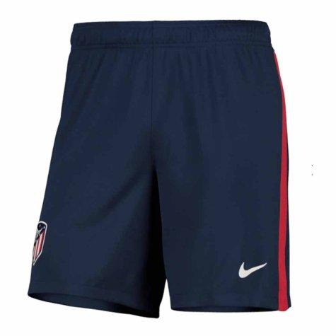 2020-2021 Atletico Madrid Home Nike Football Shorts (Navy)