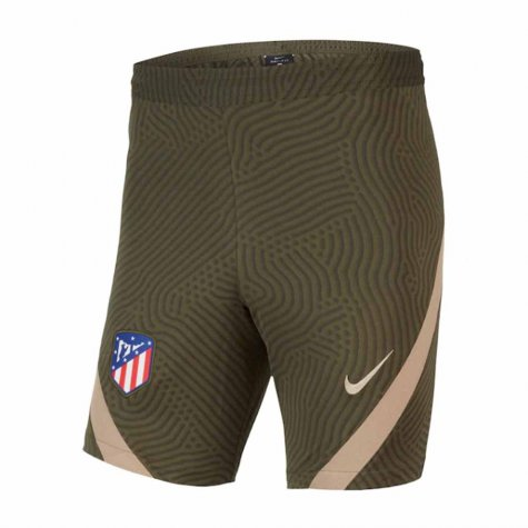 2020-2021 Atletico Madrid Nike Training Shorts (Khaki)