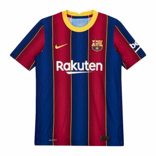 2020-2021 Barcelona Home Vapor Match Nike Shirt (Kids)