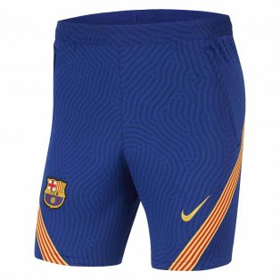 2020-2021 Barcelona Nike Strike Training Shorts (Blue)