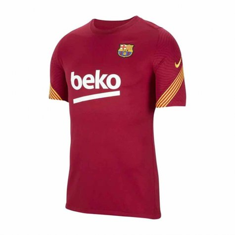 2020-2021 Barcelona Nike Training Shirt (Noble Red) - Kids