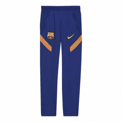 2020-2021 Barcelona Nike Training Pants (Blue) - Kids
