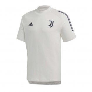 2020-2021 Juventus Adidas Training Tee (Grey)