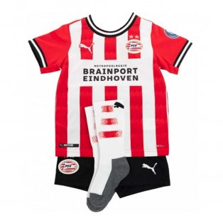 2020-2021 Psv Eindhoven Home Little Boys Mini Kit